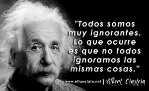 einstein-ignorancia